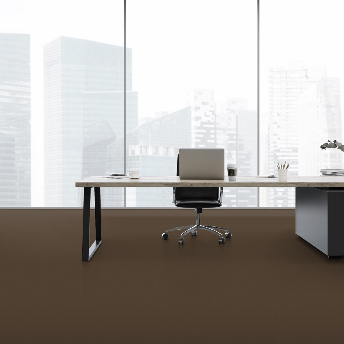 Brown Office